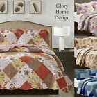 Suzy 3-Piece Glory Home Designs Reversible Quilt & Shams image