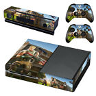 FORTNITE PS4 - PS4 Slim - Xbox One  Console Skin Decal Sticker + 2 Controller