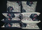 Houston Texans Set of 8 Cornhole Bean Bags FREE SHIPPING on eBay
