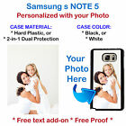 Personalized Photo Picture Phone Case Cover For Samsung NOTE 5