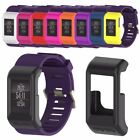 Soft Silicone Rubber Frame Protective Case Cover For Garmin Vivoactive HR Watch