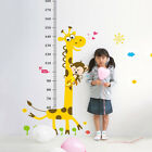 wall ruler height measurement - Growth Chart Animals Kids Height Measure Ruler Nursery Home Wall Sticker Braw