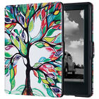 All-New Kindle Case ULAK Folio Book Style Leather Case for E-reader 8 Gen 2016