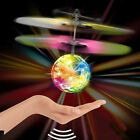 Funny LED Lighting Obstacle Sensor Flying Ball Drone Helicopter Toy for Kids BR