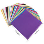 Внешний вид - 50 pcs Multi-size Single Sided Origami Paper Square Sheet for Arts Crafts