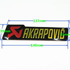 AKRAPOVIC Aluminum 3D Heat-resistant Motorcycle Exhaust Pipe Sticker Cool 1pc