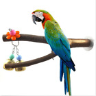 Pet Parrot Raw Wood Fork Stand Rack Toy Hamster Branch Perches for Bird Cage Hot