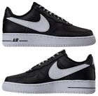 NIKE NBA AIR FORCE 1 '07 LV8 CASUAL MEN's BLACK - WHITE AUTHENTIC NEW IN BOX US