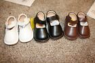 squeaky leather - Toddler Girl's Solid Mary Jane Squeaky Shoes - Brown White Black Red