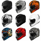*FAST FREE SHIPPING * NEW ICON AIRFLITE Motorcycle Helmet Full Face