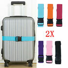 Kyпить 2X Travel Safty Luggage Packing Suitcase Strap Baggage Backpack Bag Belt New USA на еВаy.соm