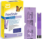 Abbott Freestyle Optium NEO Glucose Monitor & Test Strips Ketone Lancets 28G
