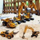 Construction Vehicle Dump Truck Digger Loader Excavator Movable Alloy Toy Car