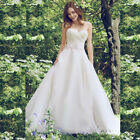 2018 Sexy Ruching White/Ivory Lace Bridal  Wedding Dress Backlesss custom made