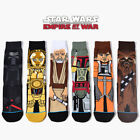 6 Pairs Star Wars Cotton Socks Winter Warm Leisure Athletic Collection Mens USPS $14.86 USD on eBay