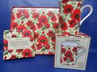 Poppy Tableware - Poppy Mug - Poppy Coasters - Poppy Placemats - Gift Boxed