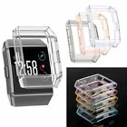 For Fitbit Ionic Protective Case Screen Protector Clear Silicone Frame Shield