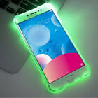 LED Flash Light Luminous Glitter Clear TPU Case Cover For iPhone Xs Max Xr Note9