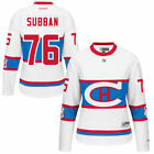 PK Subban Montreal Canadiens Womens White 2016 Winter Premier Jersey