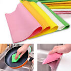 5/10/20/50PCS Scouring Pads Cleaning Cloth Dish Towel Kitchen Home Scour Scrub