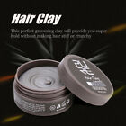 Men Cement Clay Messy Look Hair Styling Wax High Hold Barber Styling Pomade