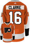 BOBBY CLARKE PHILADELPHIA FLYERS ADIDAS AUTHENTIC HOME NHL HOCKEY JERSEY