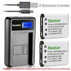 Kastar Battery LCD Charger for Fujifilm NP-45 NP-45A & FinePix XP11 FinePix XP15