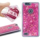 Glitter Shockproof TPU LIQUID Case Cover For ZTE ZMax Pro 2 / Z982 / blade
