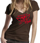 INDIVIDUELLES ADDICTED TO ST. PAULI LADIES SEXY T-SHIRT HAMBURG AUSLAUFMODELL!