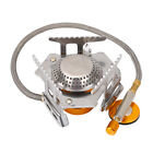 Stove Burner Furnace Connector Head Gas Tank Adapter Valve Outdoor Camping SD