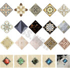 10pcs Square Self Adhesive Tile Floor Wall Stickers 3d Decal Home Decor Vintage