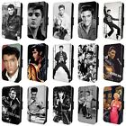 ELVIS PRESLEY SINGER KING OF ROCK AND ROLL FLIP CASE for iPHONE 4 5 6 7 8 x