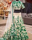 New Dress Indian Wedding Reception Hand Work Bridal Lehenga Choli Bollywood NRJ