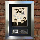 THE JAM No2 Signed Autograph Mounted Photo Repro A4 Print 709