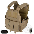 TMC Tactical Vest Plate Carrier Body Armor 94K Pouch Molle Cordura Hunting GearChest Rigs & Tactical Vests - 177891