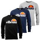 Ellesse Heritage Succiso Mens Crew Retro Fashion Sweatshirt Jumper