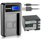 Kastar Battery LCD Charger for Canon NB-2L24 & Canon PowerShot S60 PowerShot S70