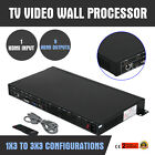 3x3 TV09 9 Channel Video Wall Controller HDMI Outputs processor Channel Outputs