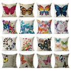 Butterfly Printed Cushion Covers Decorative Pillow Throw Sofa Case 45 x 45 CMS
