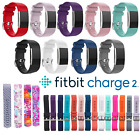 Replacement Wristband For Fitbit Charge 2 Band Belt Silicone Fitness Small/Large