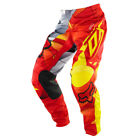 FOX KIDS- TODDLER 180 RADEON PANT- RED/YELLOW