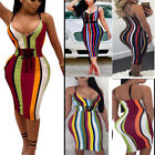 Summer Sexy Women Bandage Evening Cocktail Party Club Mini Short Dress US STOCK