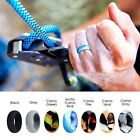 7 Pack Silicone Wedding Activity Ring Band for Men Sport Gym Outdoor Gift Box