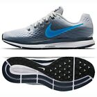Nike Air Zoom Pegasus 34 880555-008 Pure Platinum/Blue/Black Men's Running Shoes