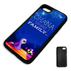 STARGAZING LILO & STITCH QUOTE PROTECTIVE PHONE CASE COVER fits Iphone BLACK