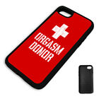 FUNNY ORGASM DONOR  PROTECTIVE PHONE CASE COVER fits Iphone BLACK