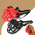ES_ Pet Dog Basket Muzzle Soft Silicone Mesh Cage No Barking Biting Chewing Fash