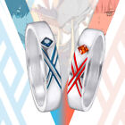 anime couple sleeping - DARLING in the FRANXX Ring Couple Rings Cos Gift Daily Anime Size 7 / 10