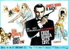 James Bond 007 From Russia With Love Movie Art Silk Poster 12x18 24x36 24x43 $8.4 CAD on eBay