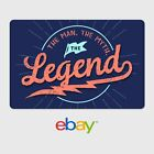 Kyпить eBay Happy Father's Day Legend Digital Gift Card - $25 to $200 Email Delivery на еВаy.соm